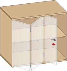 Les 25 meilleures id es de la cat gorie portes pliantes for Porte vitree pour meuble