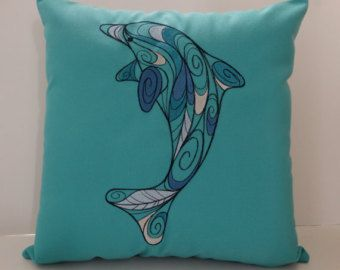 Popular Items For Dolphin Pillow On Etsy