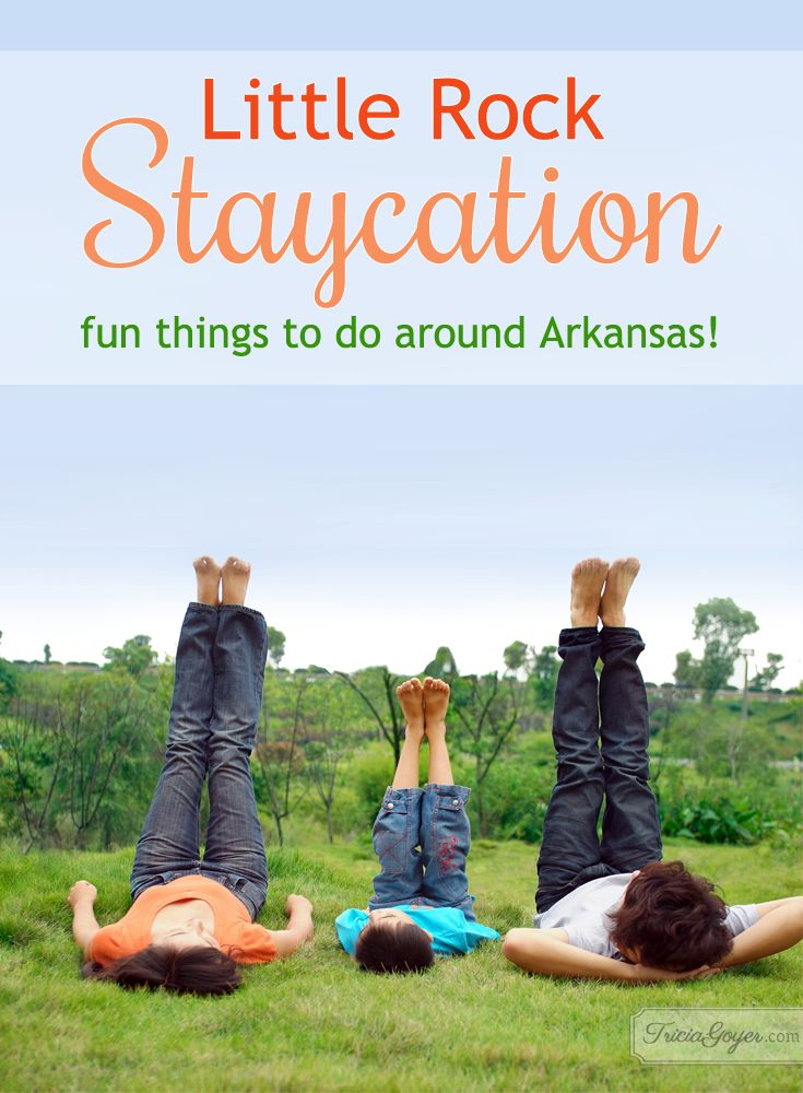 After moving to Arkansas in 2010 we've found there is so many fun things to do around Little Rock…and all around Arkansas!