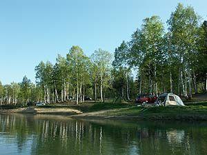 朱鞠内湖キャンプ場
