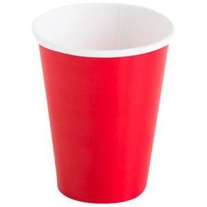 Candy Apple Red Paper Party Cups (8)