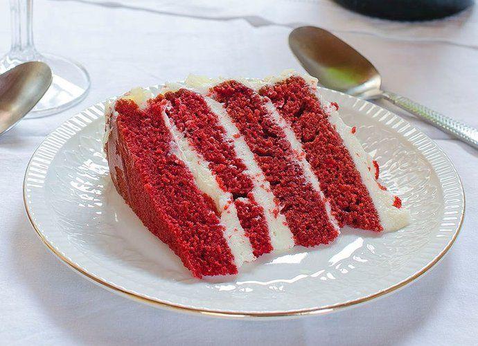 Tarta Red Velvet Cookinaria para #Mycook http://www.mycook.es/cocina/receta/tarta-red-velvet-cookinaria