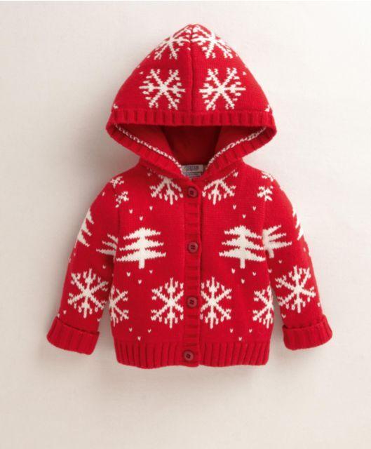 Unisex Christmas Knitted Cardi