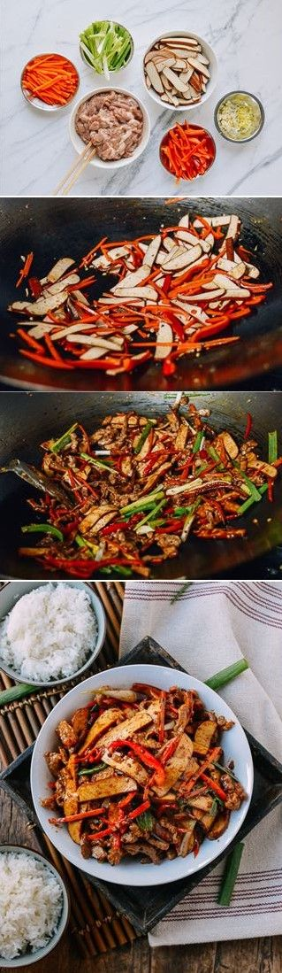 #Five #Spiced #Tofu with #Shredded #Pork recipe by the Woks of Life