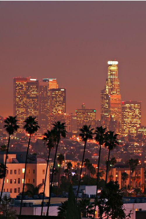 Los Angeles, California #LA #Palms