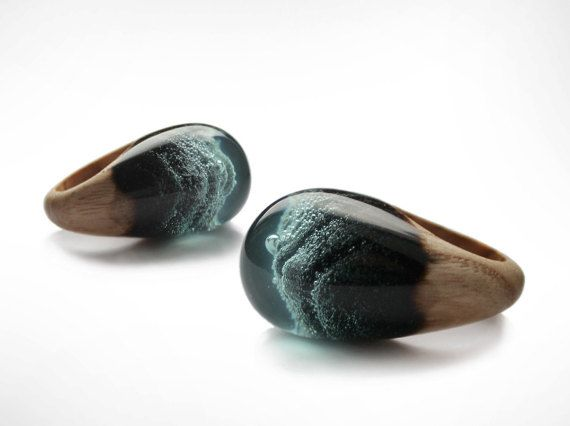 Resin+Wood+Ring+Epoxy+Resin+Wood+Resin+Jewelry+by+noLabelkharchov