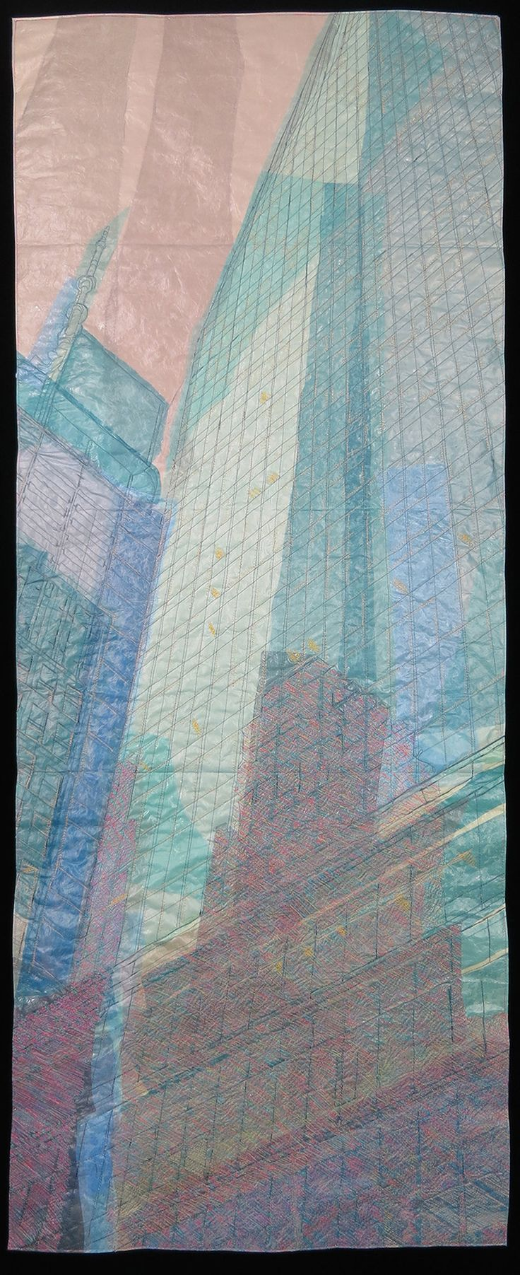 Specular Reflection by Natalya Aikens. Specular Reflection is part of the City Lines series, which is the newest series in my repertoire. It is inspired by New York City: small alleyways, huge avenues, cracked pavement, glass skyscrapers, brick storefronts, vibrant graffiti, grand bridges and rusting fire escapes.