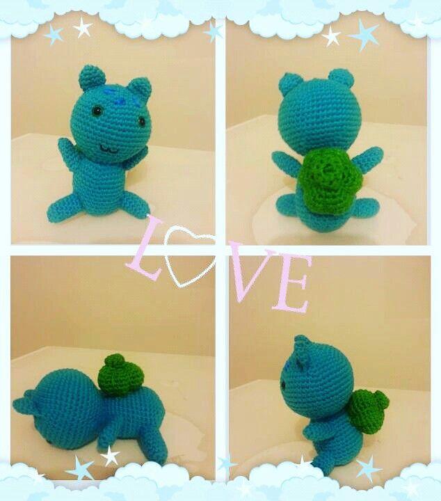 #bulbasaur #amigurumi #crochet #handmade #örgü #hobi #toys