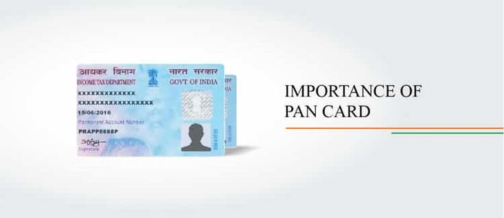 IMPORTANCE OF PAN CARD Property lawyers in India