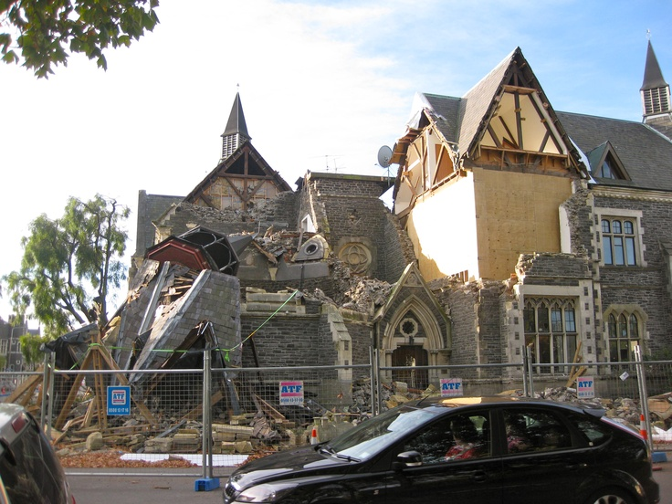 Christchurch, New Zealand (After the destructive Earthquakes)