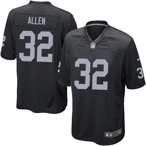 Men Nike Oakland Raiders #32 Marcus Allen Limited Black Team Color NFL Jersey Sale