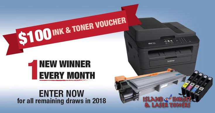 Help me win this awesome contest from Island Ink-Jet