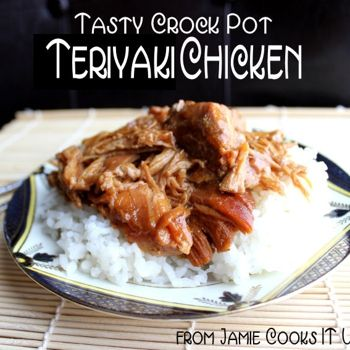 Tasty Teriyaki Chicken (Crock Pot)....made this tonight it was super easy and very tasty! (I added a touch of rice vinegar to the recipe)