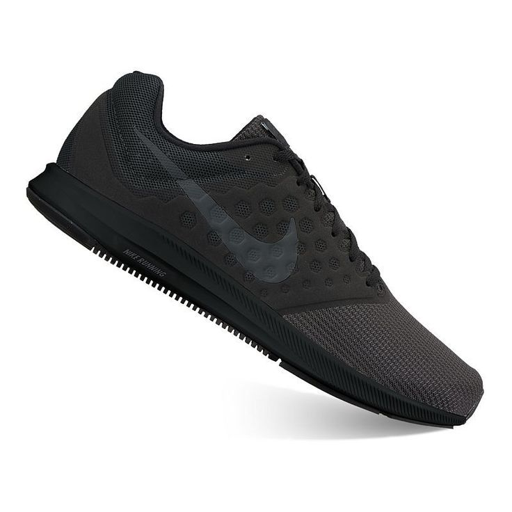 Nike Downshifter 7 Men's Running Shoes, Size: 7.5 4E, Black