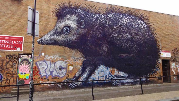 Street art London   Shoreditch, happening neighborhood • Travelaar