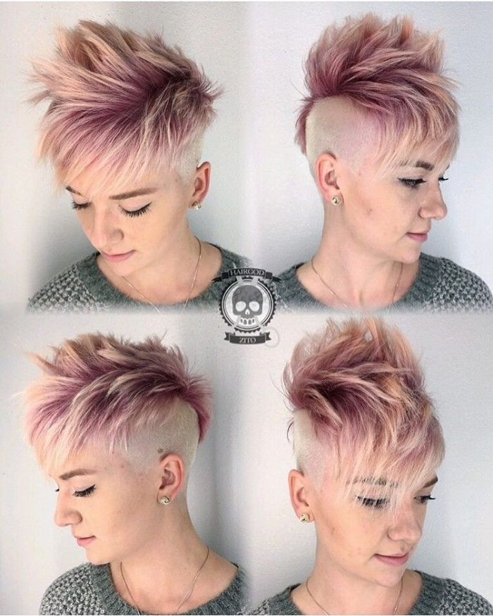 Undercut Hairstyles Women Undercuts Mohawks