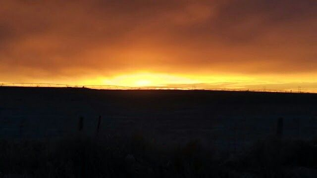 Dawn at Cochrane Alberta