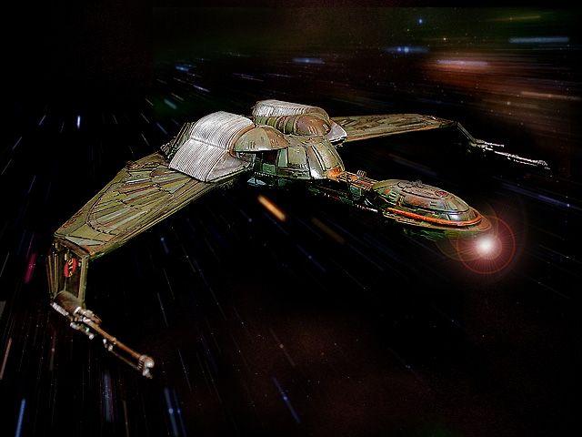 STAR TREK バード・オブ・プレイ(クリンゴン帝国汎用宇宙船)