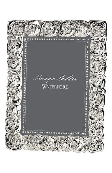 Monique Lhuillier Waterford 'Sunday Rose' Picture Frame available at #Nordstrom