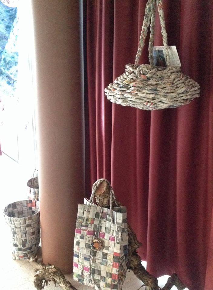 Paper Bags and plant pots