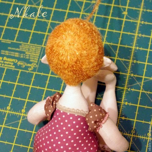 Создаем кукольную прическу. Бигудюшки - Ярмарка Мастеров - ручная работа, handmade