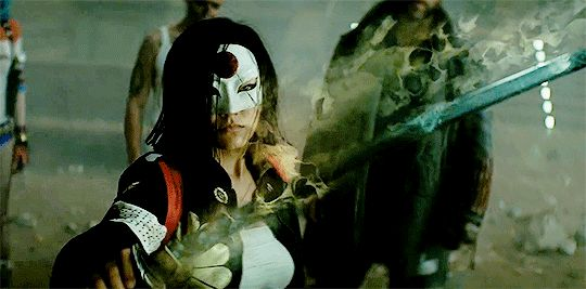 Katana in the new Suicide Squad Trailer