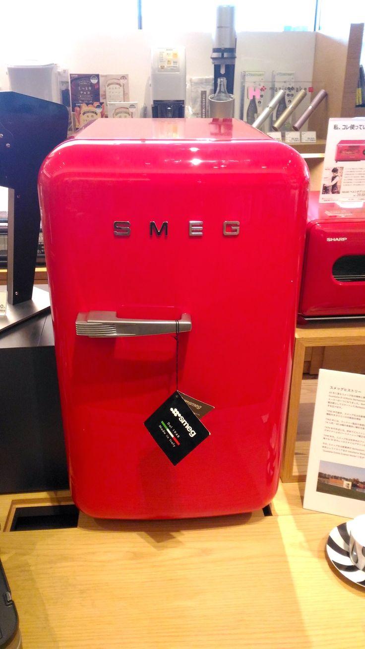 2台目の冷蔵庫 二子玉川 蔦屋家電にあったSMEGの小型冷蔵庫FAB5URR 外観1_[0]