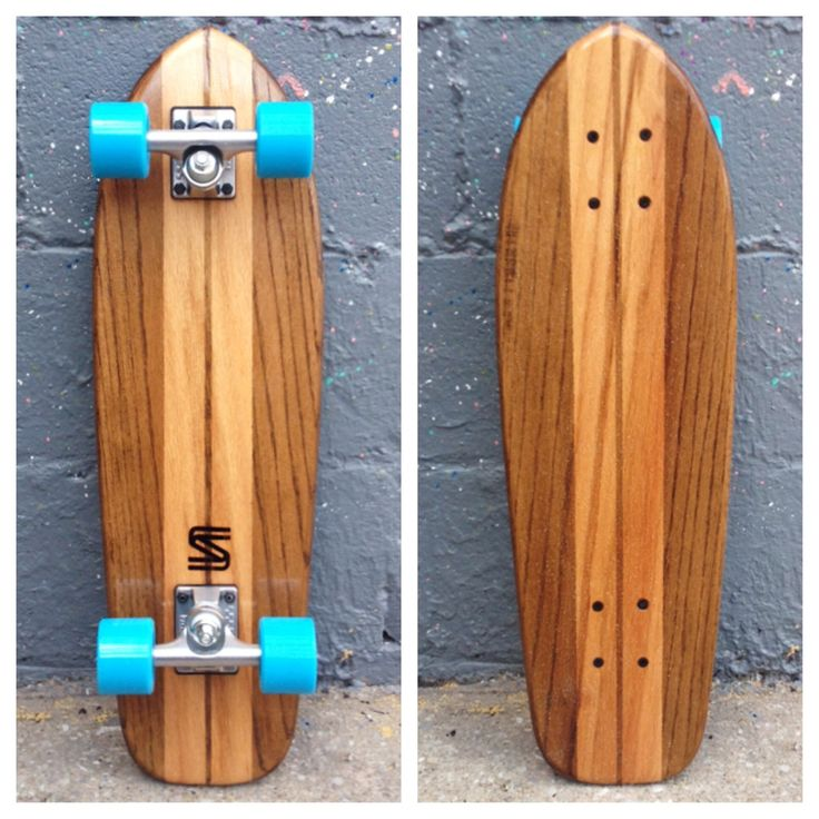 SALEMTOWN BOARD CO. The Upright (Oak Cruiser) Cruiser Skateboard http://www.salemtownboardco.com/collections/boards/products/the-upright