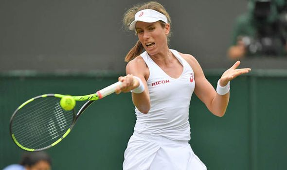 Johanna Konta battles beyond Monica Puig into Wimbledon second round