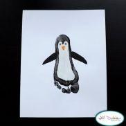 Footprint PenguinsChristmas Cards, Footprints Art, Crafts Ideas, Winter Crafts, Baby Feet, Foot Prints, Cute Ideas, Kids Crafts, Footprints Crafts