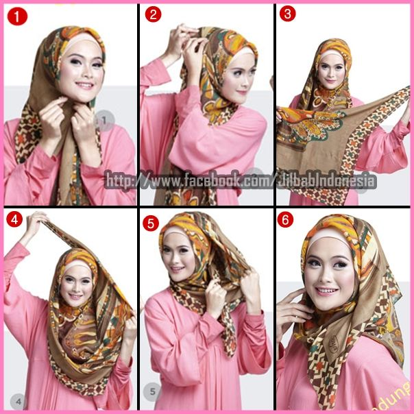 Hijab Tutorial ...