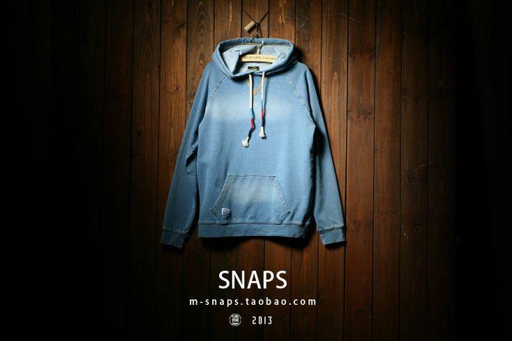 2014 весной новые европейские и американские мужчины японский уличной моды мужчин пуловеры свитер вязаный джинсовую куртку мужчин - Taobao