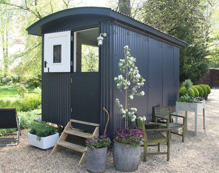 New home for Jacob and Theo! Shepherds Hut