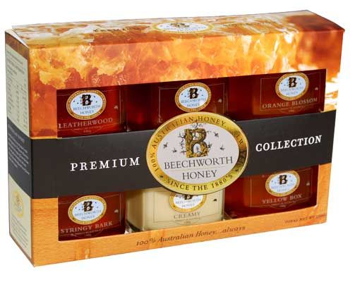 Beechworth Honey.  Six Flavours Gift Pack.