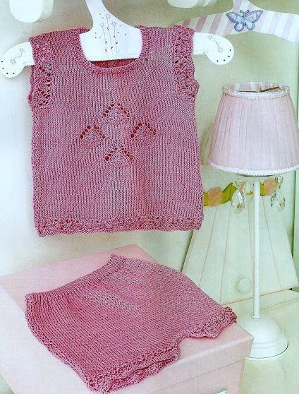 Ropa para Niños para Tejer ~ 20 Modelos / Moldes y Paso a paso | Crochet y Dos agujas - Patrones de tejido