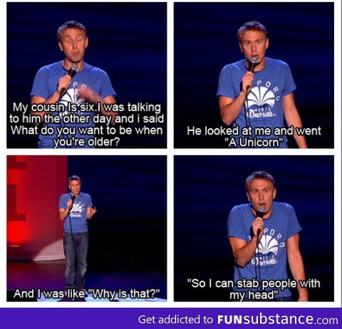 Russell Howard is so funny ;)