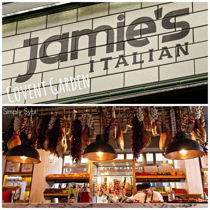 Jamie Oliver, Covent Garden.