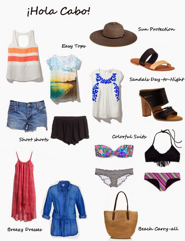 Cabo Beach Vacation Packing List So You Agree