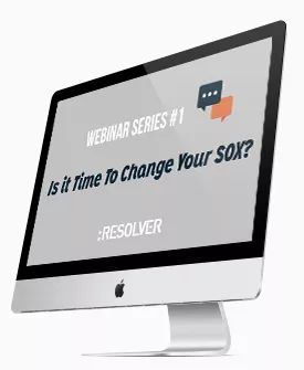 #Webinar – Is it time to change your SOX? #1 http://www.resolver.com/resource/is-it-time-to-change-your-sox/