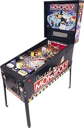 by STERN Pinball, Inc., Hasbro, Inc. (NYSE:HAS) and Pat Lawlor Design, the MONOPOLY® pinball