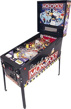 De Monopoly van Stern, de hoofdprijs in de loterij van het Dutch Pinball Open van 2012 in Amsterdam