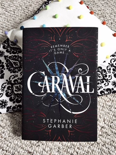 We're getting comfy with our Book Date of the week, CARAVAL by Stephanie Garber.