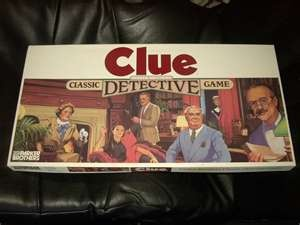 Playing Clue at Tena's house
