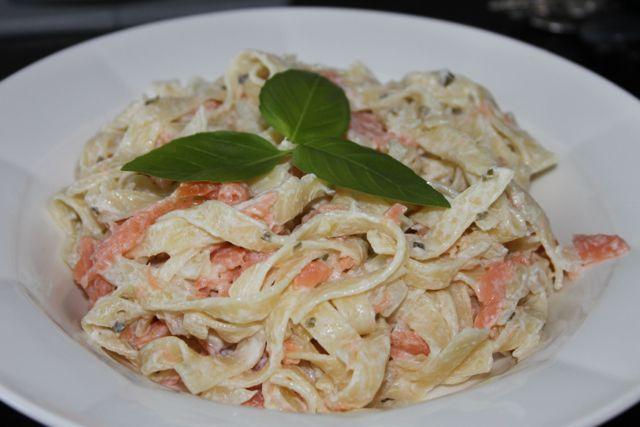 Recept: snelle en makkelijke pasta met zalm