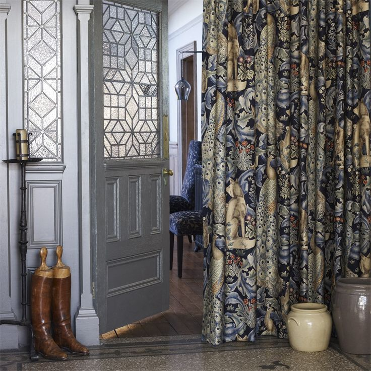 Style Library - The Premier Destination for Stylish and Quality British Design | Products | Forest Fabric (DMCR226445) | The Craftsman Fabrics | By Morris & Co.