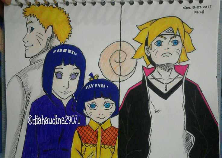 Naruto and Family