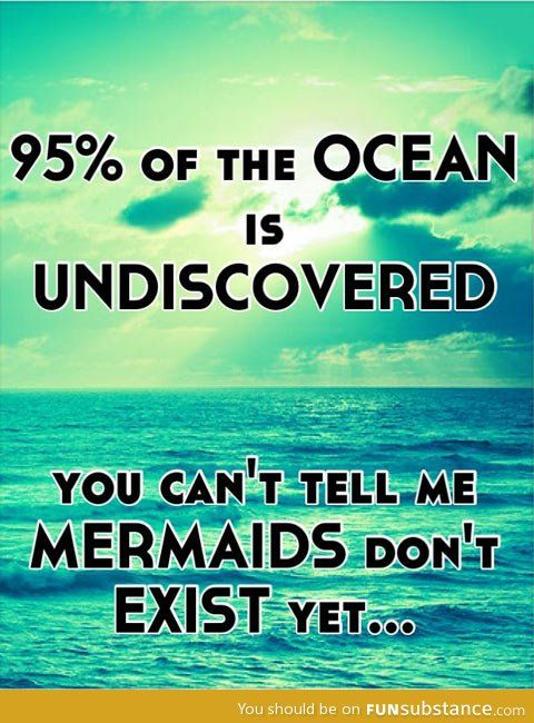 Only 5% of the ocean is discovered