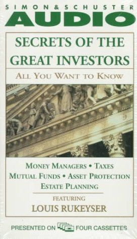ALL YOU WANT TO KNOW ABOUT: SECRETS OF THE GREAT I: Money Managers and Mutual Funds Taxes, Asset Protection, and Estate Planning  US $6.85 & FREE Shipping  #bigboxpower