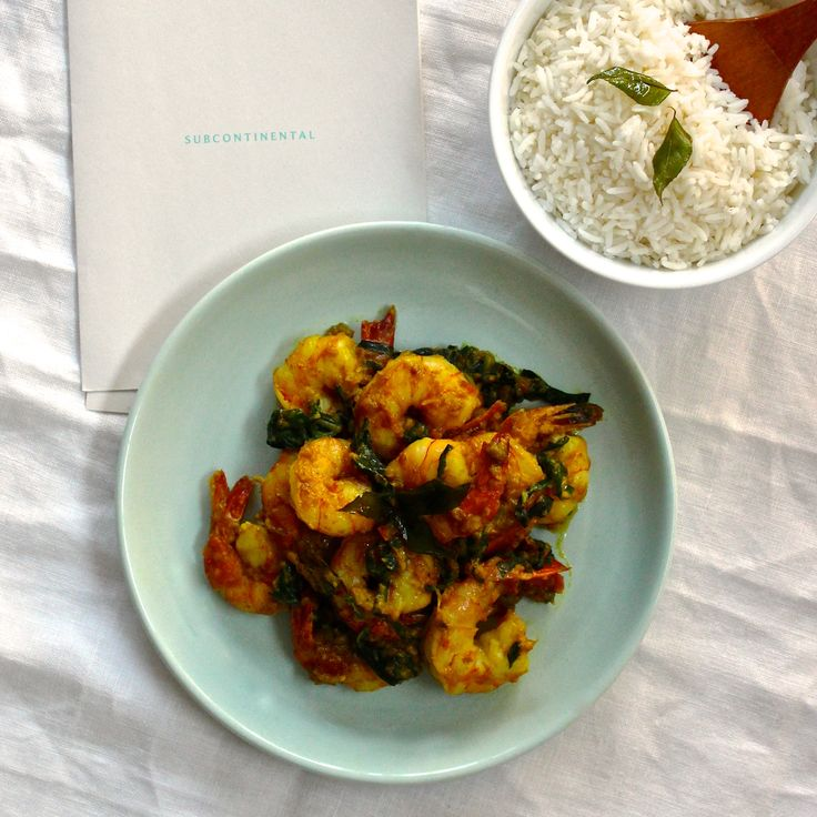 SUBCONTINENTAL'S BENGALI CURRY WITH PRAWNS, SPINACH, COCONUT & TUMERIC. A traditional curry that is a little bit lighter and allows the fresh seafood to be the hero. 30 Minutes. Make a restaurant dish at home! For bookings visit subcontinental.com.au