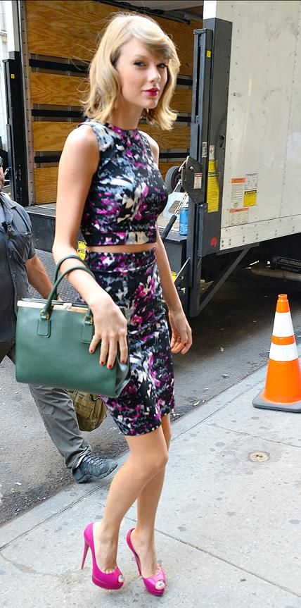 70 Reasons Why Taylor Swift Is a Street Style Pro - September 15, 2014 from #InStyle